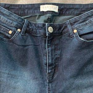 Eloquii dark wash jeans